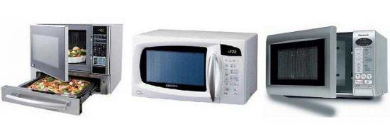 3 microwaves
