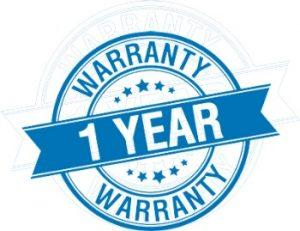 one year warranty for appliances repair